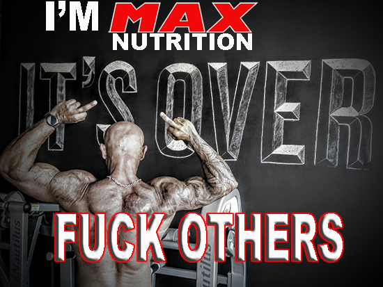 I am MAX NUTRITION